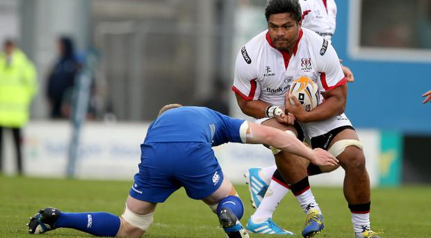 Responsibility: Peter Rainey says experienced players such as Nick Williams can guide Ulster's young starlets