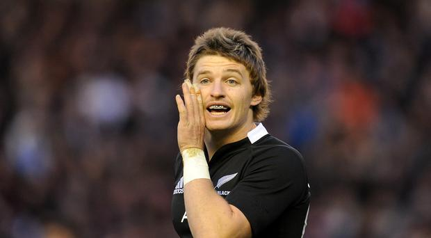 Beauden Barrett will start at 10