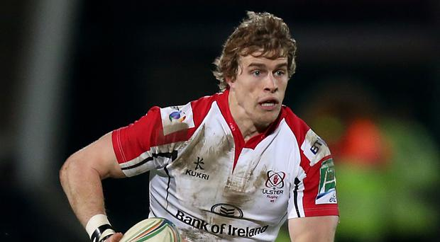 Andrew Trimble helped rescue a draw for Ulster