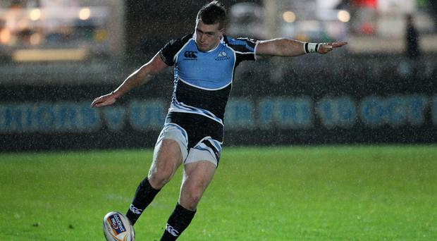 Stuart Hogg kicked a late penalty to win the match for Glasgow