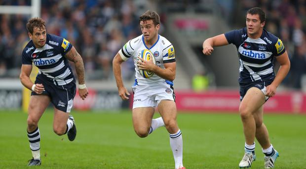Both coaches believe George Ford, centre, made the difference at Sale