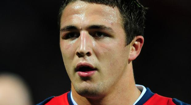 Sam Burgess faces a race against time if he is going to play for England at next year's World Cup