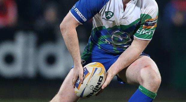 Close call: Willie Faloon scored late Connacht winner