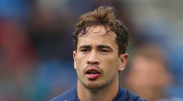 Danny Cipriani was unable to stave off defeat for Sale
