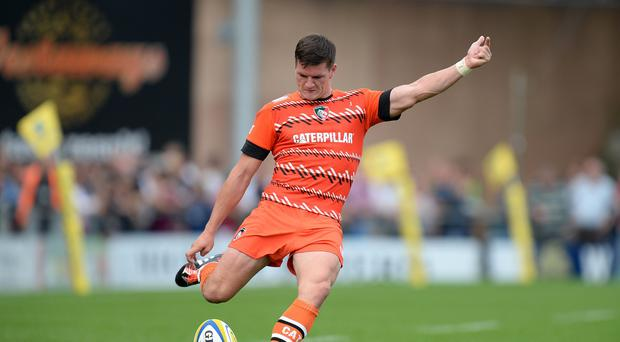 Freddie Burns moved to Leicester from Gloucester this summer
