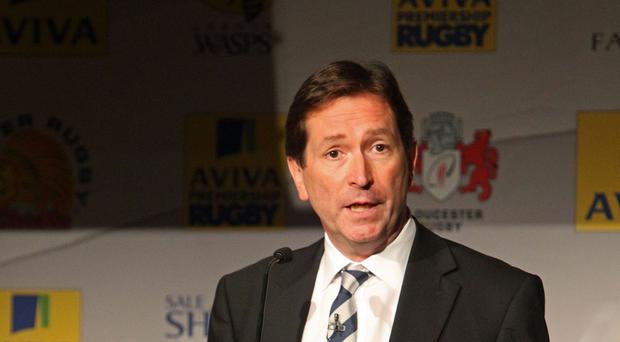 Chief executive Mark McCafferty, pictured, believes a salary cap hike can help Aviva Premiership clubs keep England's best players on home soil