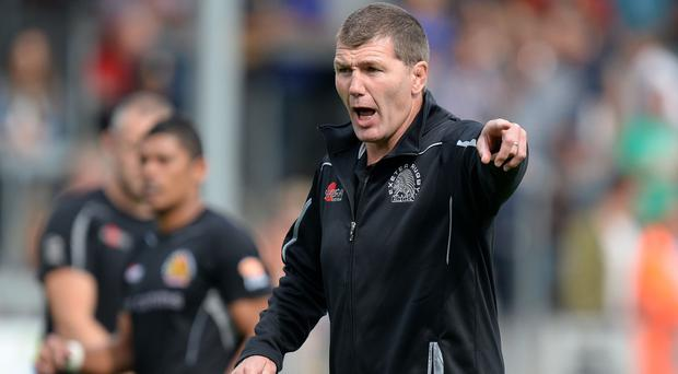 Rob Baxter is pleased with how Exeter have begun the season