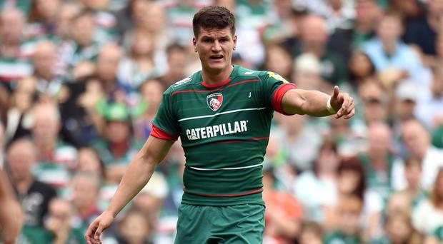 Leicester fly-half Freddie Burns has been praised for his consistency