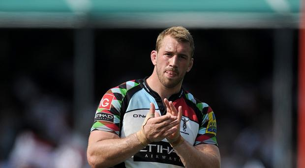 Chris Robshaw, pictured, has certainly got the backing of Harlequins chief Conor O'Shea