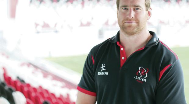 All in hand: Neil McComb is ready to cement his place in Ulster's starting line-up