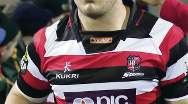 New arrival: Ronald Raaymakers has joined Ulster