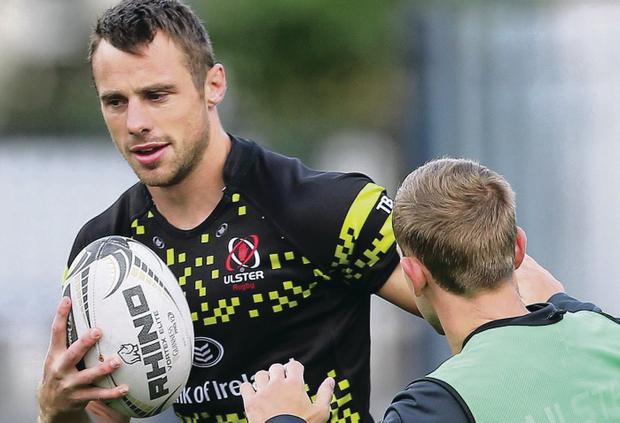 Essential experience: Tommy Bowe remains in the starting XV after Ulster made 10 changes to the team to face Zebre today