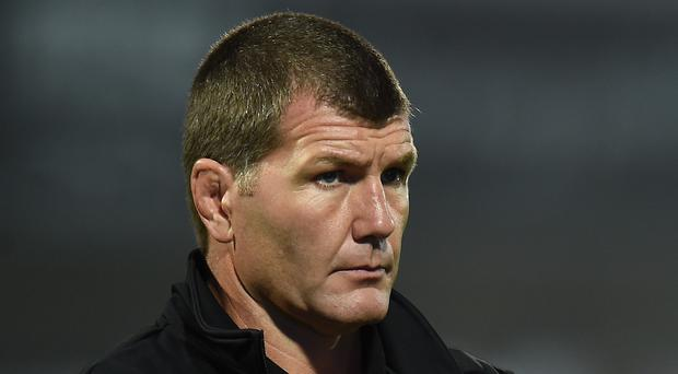 Exeter head coach Rob Baxter is wary of the threat posed by Harlequins