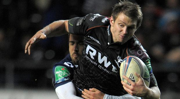 Dan Biggar shone in Ospreys' victory over Munster