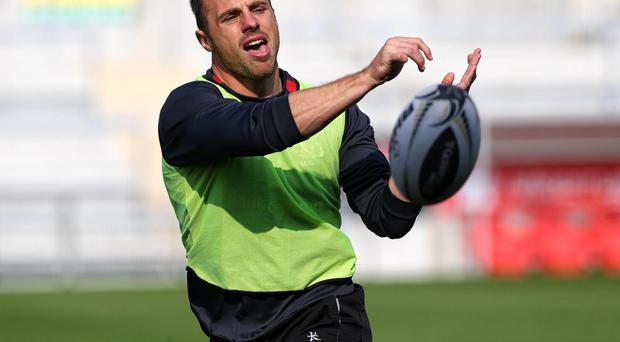 Sidelined: Tommy Bowe is unavailable for Ireland's Test against South Africa after an injury picked up in Ulster's defeat to Toulon last weekend