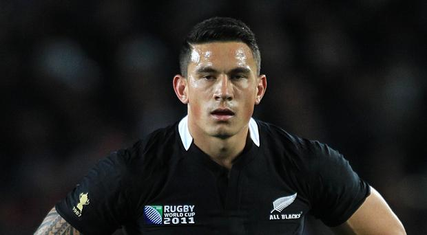 Sonny Bill Williams scored two tries on his All Blacks return
