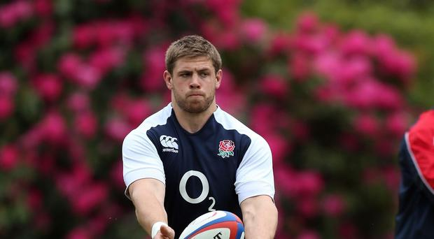 England's Dave Attwood is about to become a father for the first time