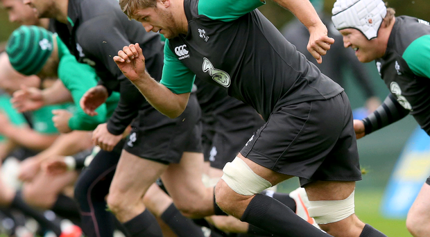 Pushing on: Chris Henry will hope to replicate the glittering form he showed in Ireland's Six Nations triumph