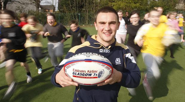 Scotland's Adam Ashe is looking forward to his Murrayfield return