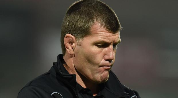 Exeter director of rugby Rob Baxter, pictured, was pleased with the LV= Cup workout against Bath