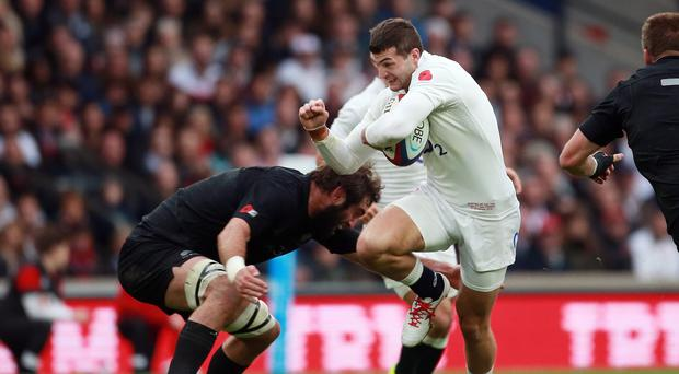 Jonny May scored a stunning early try against the All Blacks