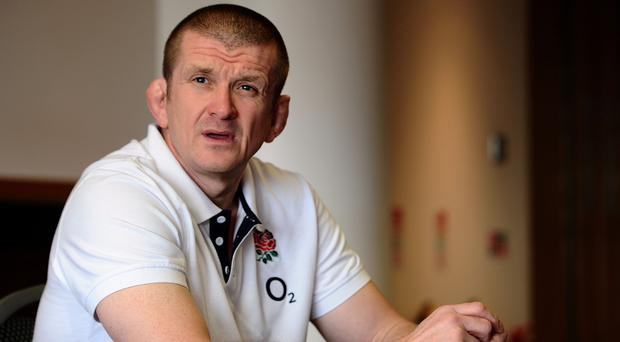 South Africa forwards coach Johann van Graan hailed England counterpart Graham Rowntree, pictured, as among the world's best forwards coaches