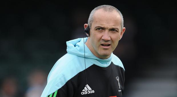 Harlequins rugby director Conor O'Shea, pictured, described Mark Mapletoft and Tony Diprose as being a 'privilege to work with'