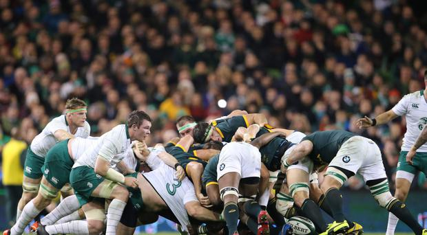 Work in progress: There is plenty of room for improvement with Ireland's scrum