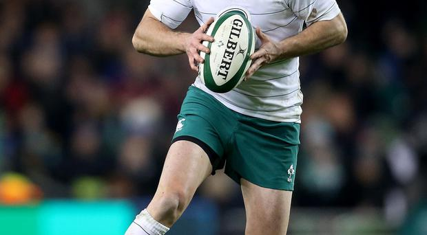 Winning admirers: Johnny Sexton could be named the IRB World Player of the Year