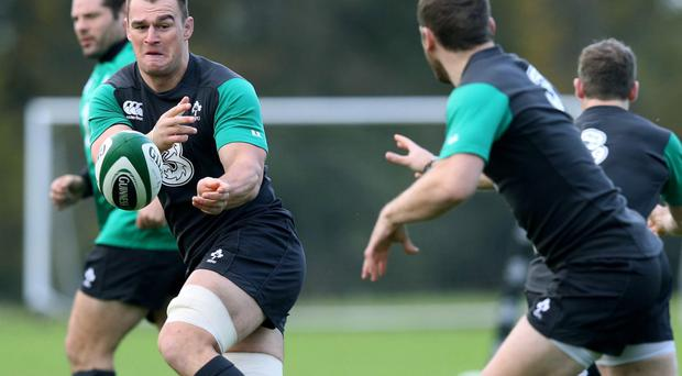 Confident: Rhys Ruddock feels Ireland have more to offer
