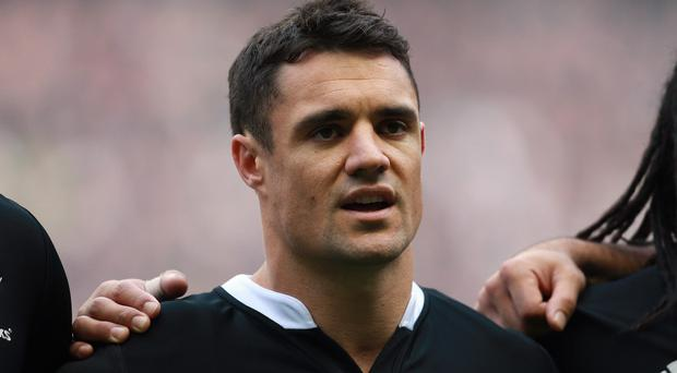 New Zealand fly-half Dan Carter will start for the All Blacks against Scotland on Saturday