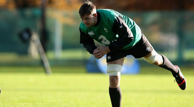 Dave Foley will make his Test debut for Ireland against Georgia in Dublin on Sunday