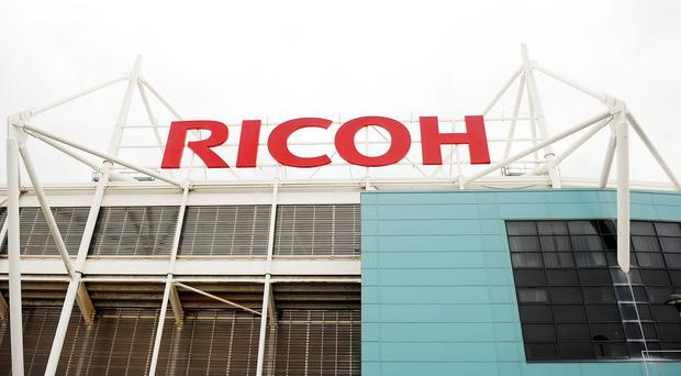 Wasps' first game at the Ricoh Arena will be against London Irish on December 21