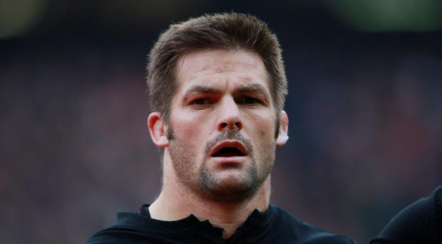 New Zealand's Richie McCaw, pictured, will skipper the All Blacks against Scotland on Saturday