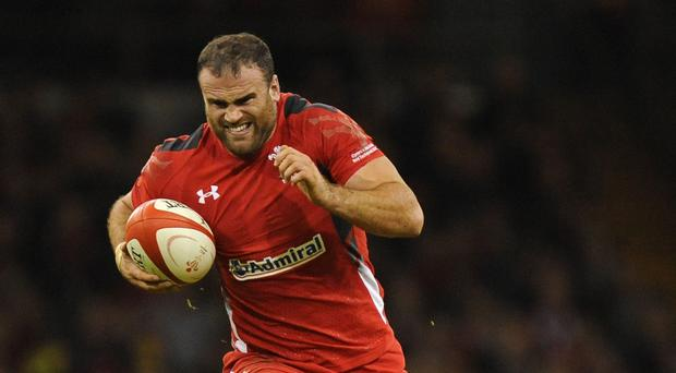 Wales centre Jamie Roberts is relishing a midfield battle against Fiji