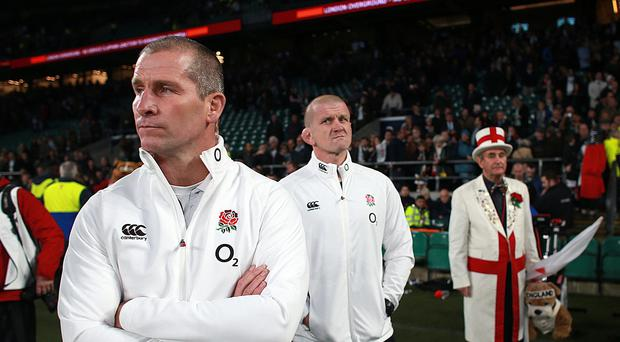 Stuart Lancaster insisted there was no need to press the panic button after England's defeat to South Africa