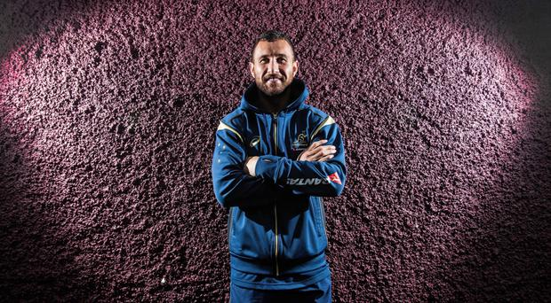 Big fan: Quade Cooper hailed the style of Johnny Sexton