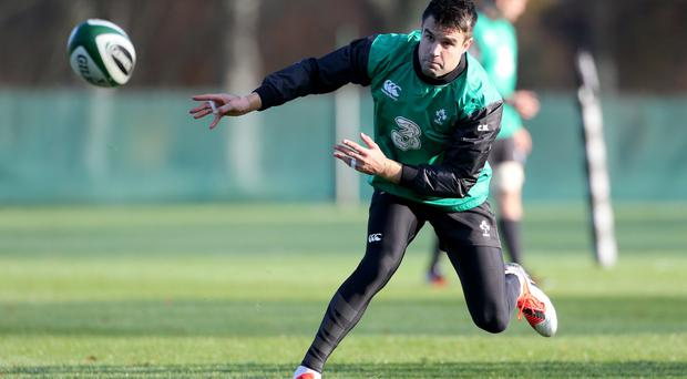 Ready to rock: Conor Murray knows this could be the biggest test for Ireland
