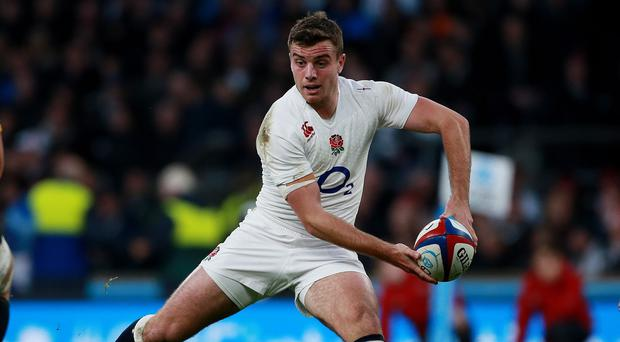 England's George Ford will start against Samoa