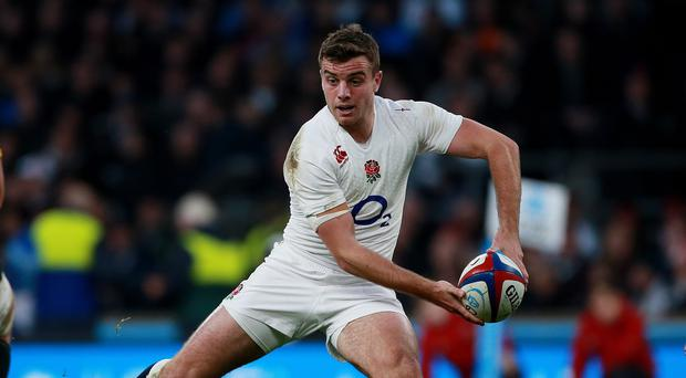 England's George Ford, pictured, is ready to start at fly-half against Samoa
