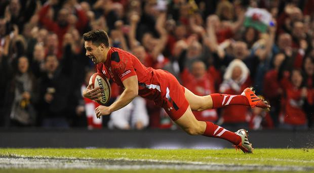 Rhys Webb scored a try during the autumn Test opener against Australia earlier this month