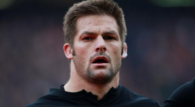 Richie McCaw will captain New Zealand for the 100th time against Wales on Saturday