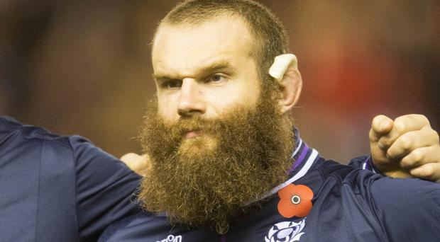 Scotland's Geoff Cross will make his first start of the autumn Test series against Tonga at Rugby Park