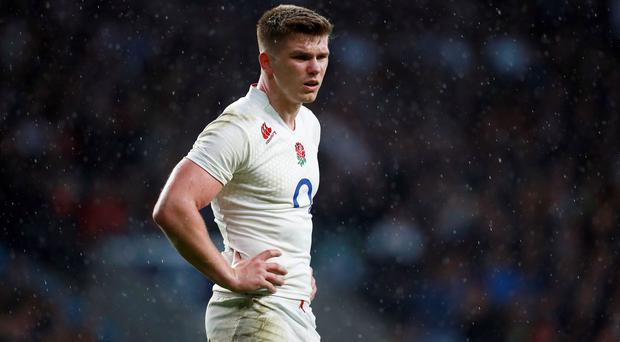 Owen Farrell has had to hand over number 10 duties