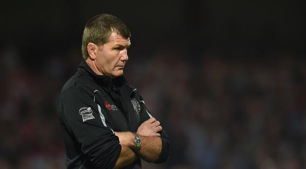 Rob Baxter wants his side to make the gap even bigger between them and the teams battling to get into the top four