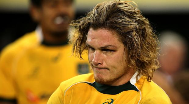 Michael Hooper will lead Australia out at Twickenham on Saturday