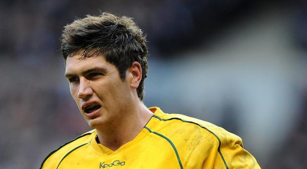 Rob Simmons is set to win his 50th cap for Australia