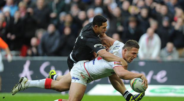 Sam Burgess was outstanding in his final year in rugby league