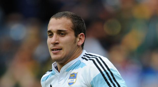 Joaquin Tuculet was among the tryscorers in Cardiff Blues' defeat of Treviso.