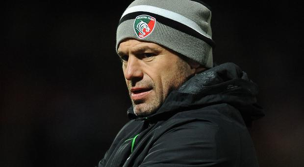 Angry man: Leicester director of rugby Richard Cockerill hit back at Martin Castrogiovanni's comments